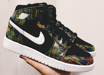 Air Jordan 1 GS BHM 2016 Release
