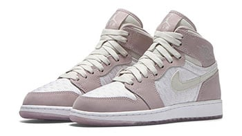 Air Jordan 1 GS Heiress Plum Fog