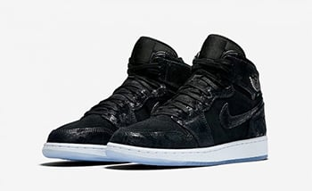 Air Jordan 1 Heiress Black Suede Release Date