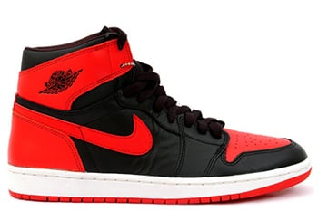 Air Jordan 1 Retro High OG Bred Release 2016