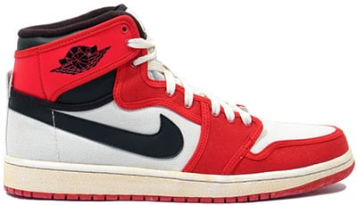 Air Jordan 1 High KO White Black Red Release Date 2014