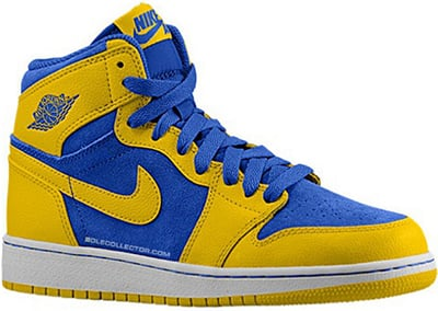 Air Jordan 1 High OG Laney Release Date November 2013
