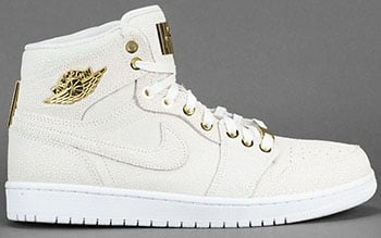Air Jordan 1 High Pinnacle White Gold 2015 Release Date