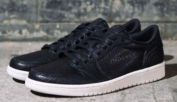 Air Jordan 1 Low No Swoosh Black