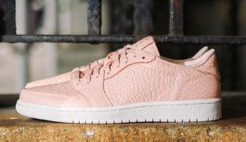 Air Jordan 1 Low No Swoosh Pink