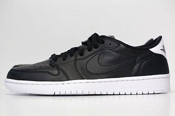Air Jordan 1 Low OG Black White