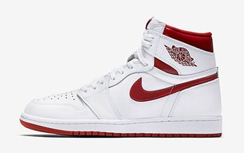 Air Jordan 1 OG Metallic Red 2017 Release Date
