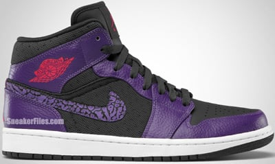 Air Jordan 1 Phat Anthracite Club Purple Spark Release Date