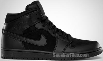 Air Jordan 1 Phat Black 2012 Release Date