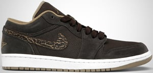 finest selection dffc0 6bb8e Air Jordan 1 Phat Low Velvet Khaki Release Date