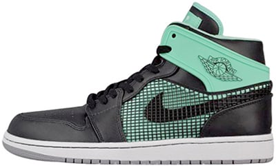 Air Jordan 1 Retro 89 Green Glow Release Date 2013