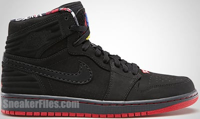 Air Jordan 1 Retro 93 Black True Red June 2013 Release Date