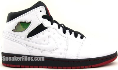 Air Jordan 1 Retro 97 White Black Gym Red March 2013 Release Date