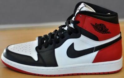 Air Jordan 1 Retro High Black Toe May 2013 Release Date