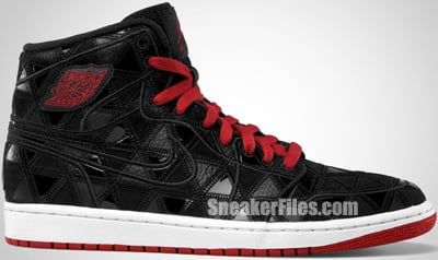 Air Jordan 1 Retro High J2K Black Red White 2012 Release Date