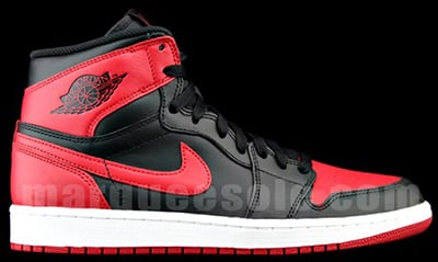 Air Jordan 1 Retro High OG Bred Release Date 2013