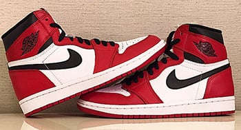 Air Jordan 1 Retro High OG Chicago 2015 Release Date