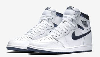 Air Jordan 1 Retro High OG White Metallic