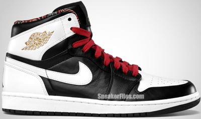 Air Jordan 1 Retro High RTTG Black Metallic Gold Gym Red White Release Date