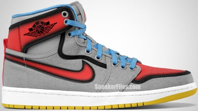 low priced fe014 3408e Air Jordan 1 Retro KO High Stealth Sunburst University Blue White Release  Date