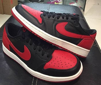 Air Jordan 1 Retro Low OG Bred Release Date