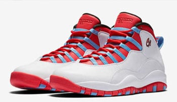 Air Jordan 10 Chicago Flag Retro