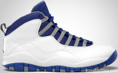 Air Jordan 10 White Old Royal Release Date