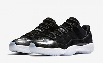 Air Jordan 11 Low Black Metallic Silver Release Date