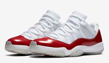 Air Jordan 11 Low Cherry 2016