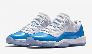 Air Jordan 11 Low University Blue Release Date