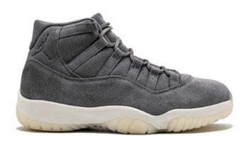 Air Jordan 11 Premium Grey Suede