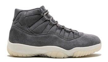 Air Jordan 11 Premium Grey Suede