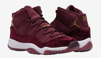 Air Jordan 11 Red Velvet GS