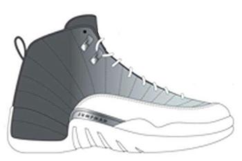 Air Jordan 12 Grey University Blue 2016
