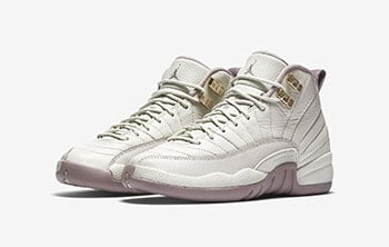 Air Jordan 12 GS Heiress Plum Fog