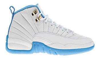 Air Jordan 12 GS White Blue Release Date