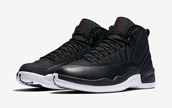 Air Jordan 12 Nylon Black