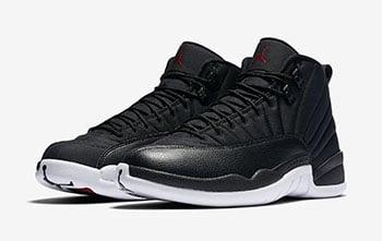 Air Jordan 12 Nylon Black