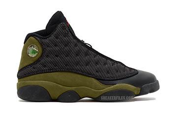 Air Jordan 13 Olive 2018