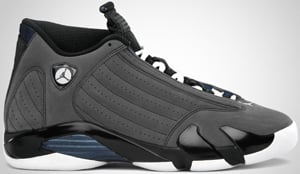 Air Jordan 14 Retro Graphite Navy Release Date