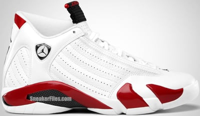 Air Jordan 14 White Red Black Release Date