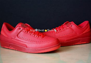 Air Jordan 2 Low Gym Red
