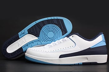 Air Jordan 2 Low University Blue Midnight Navy