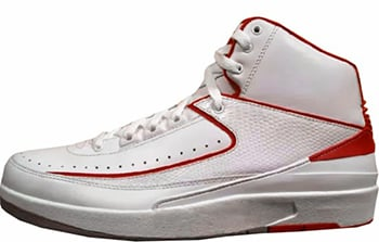 Air Jordan 2 White Varsity Red Release Date