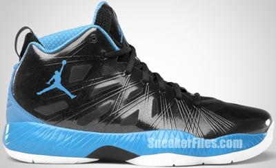 Air Jordan 2012 Lite Black University Blue White 2012 Release Date