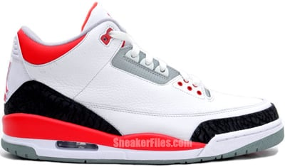 Air Jordan 3 Retro Fire Red Release Date 2013