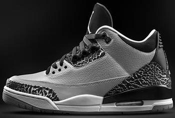 Air Jordan 3 Wolf Grey Release Date