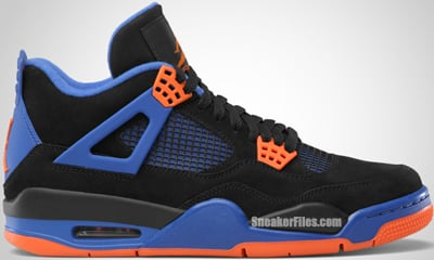 Air Jordan 4 Cavs Black Safety Orange Royal Release Date