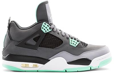 Air Jordan 4 Green Glow Release Date 2013