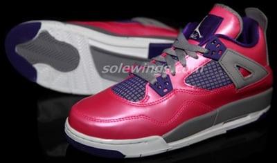 Air Jordan 4 GS Fusion Pink Release Date 2013